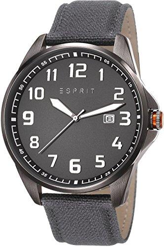 Esprit ES107991002 - Reloj de cuarzo para hombre, correa de otros materiales color gris