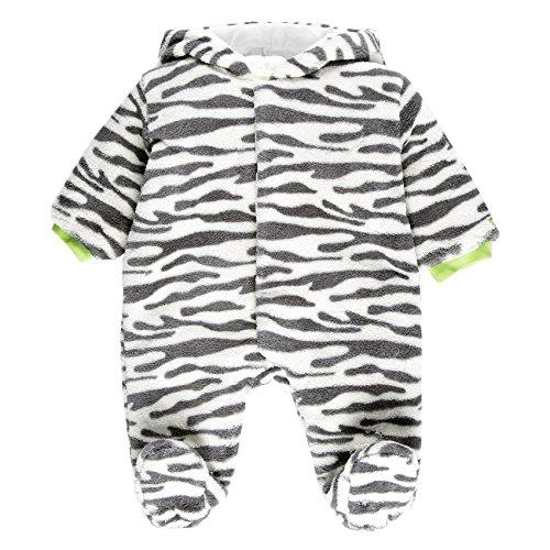 Bóboli Unisex Baby Bekleidungsset PLAY SUIT FLUFFY, Gr. 56 (Herstellergröße: 1M), Mehrfarbig (PRINT 9266)