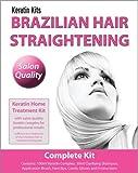 Brazilian Keratin Haarglättung  - Komplett Kit für zuhause