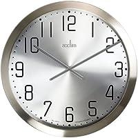 Perfect Acctim 27477 Alvik Extragroße 50 Cm Wanduhr Aus Gebürstetem Stahl Design