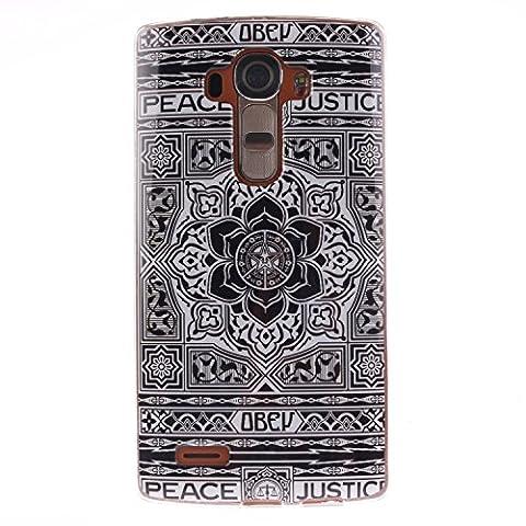 Jepson LG G4 / H818 (5.5 pouces) coque , Ultra Mince Etui Matériel De TPU de téléphonie mobile De Silicone Pour Bonne protection pour votre téléphone , idéal pour protéger votre téléphone ,