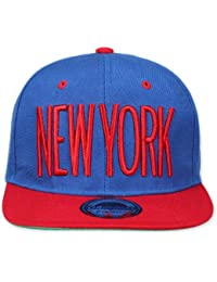Original Snapback (one size, New York City Blau / Rot) + Original MY CHICOS Sticker