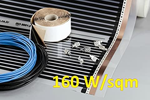 Film Chauffant Electrique - Heating floor - 3m2 Kit de Chauffage