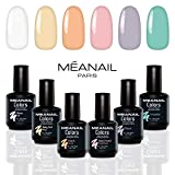 Meanail Paris COFFRET VERNIS PASTEL