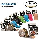 Kinesiologie Tapes Pro Tapeverband perfect Muskel Unterstützung Tape für Bewegung Athletischer Sport Verletzungen Erholung 5cm X 5m Elastic Kinesio verfügbar für ALLE Sport