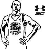 Hongge Basketball-Ass Slam Trapez 30. Wohn-Zimmer Dekorative PVC-Wandtattoo