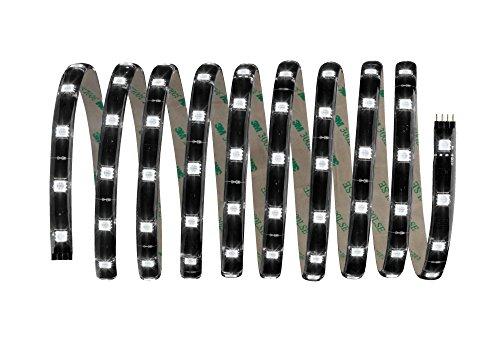 Preisvergleich Produktbild YourLED Stripe Basisset 3m RGB Schwarz,  klar beschichtet 28, 8W,  840 Lumen,  120 LED,  230 / 12V 24VA,  Schwarz,  Weiß,  Grau,  Kunststoff