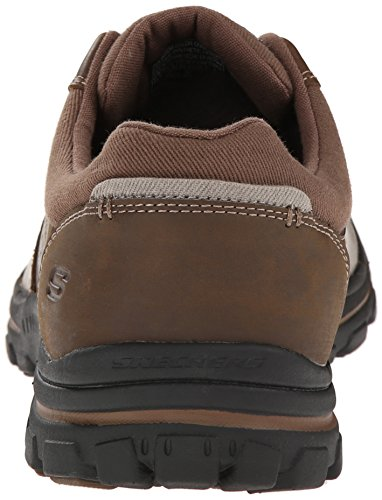 Skechers - Braver Alfano, Sneakers da uomo Marrone (Brown (Acdb - Brown))