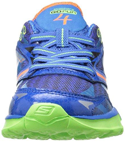 Skechers Go Run 4 Jungen Sneakers Blau/Lime