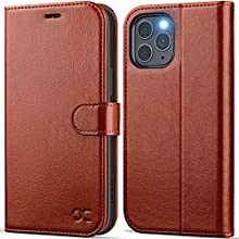 OCASE iPhone 12 Pro Max Case, PU Leather iPhone 12 Pro Max 5G Wallet Case [TPU Inner Shell][RFID Blocking][Kickstand][Card Holder] Flip Phone Cover Compatible For the 6.7 Inch iPhone 12 Pro Max-Brown