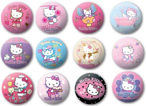 1 x Hello Kitty Softball Springball ca. 10 cm, Ball, verschiedene Varianten (Hello Kitty Ball)
