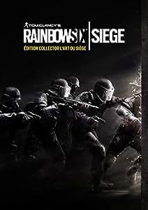 Rainbow Six : siege - édition collector l'art du siège