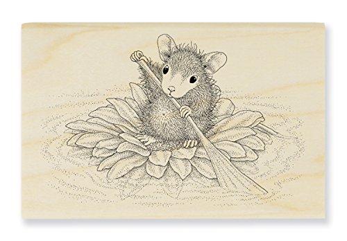 Unbekannt Stampendous hmm20Haus Maus Holz Stempel, Blütenblatt Paddler -
