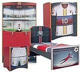 Cilek Football Kinderzimmer I, 5-TLG. Matratze ohne Matratze