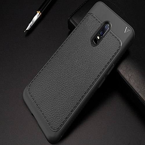 the latest 6d6c5 6dc87 OnePlus 6 Case Cover, Protexz Anti Drop with Screen and Camara Protection  [360 Degree Protection] Premium Leather Texture Rugged Armor Shock Proof  TPU ...