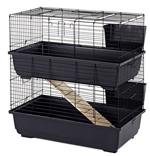 classic-tod-100-double-wide-bar-rabbit-cage-100x50x100cm