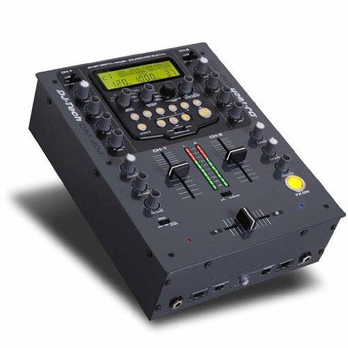 DJ Tech 2-Kanal DJ-Mixer DJM202 Computer Effekte Controller (Mixer Dj-tech)