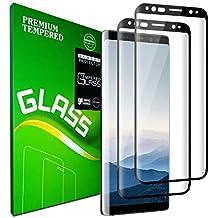Galaxy S9 Plus Film Protection écran en Verre trempé,  2 Pièces   Couverture 05a26778ba83