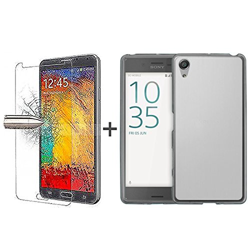 tbocr-pack-clear-tpu-silicone-gel-case-tempered-glass-screen-protector-for-sony-xperia-xa-f3111-f311