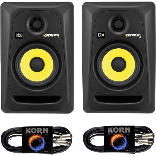 KRK RP5 ROKIT G3 Plug & Play 5 m Kabel Set