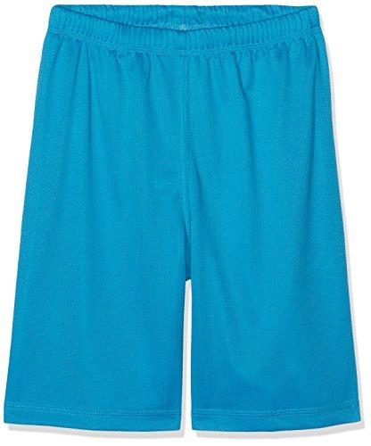 Urban Kids Jungen Kids Bball Mesh Shorts Türkis (Turquoise 217), 140 (Herstellergröße: 10) (Mesh-mädchen-shorts)