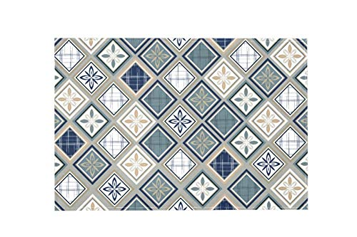 Square Pattern Large Area Rugs,Dirty Children's Carpets for Living Roooms,Bedrooms,Children's Doormats 183x122cm/72x48in