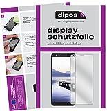dipos I 2X Schutzfolie klar passend für Gigaset GS370 Folie Bildschirmschutzfolie