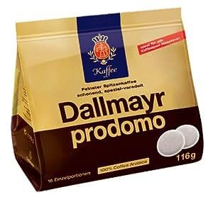 Dallmayr Prodomo Pads 116g - 10er Karton (10 x 16 Pads)