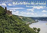 Welterbe Oberes Mittelrheintal (Tischkalender 2019 DIN A5 quer): UNESCO Weltkulturerbe: Oberes Mittelrheintal - Rheinromantik und Höhenburgen (Monatskalender, 14 Seiten ) (CALVENDO Orte)