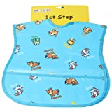 1st Step Baby PVC Bib Set 2 Pcs - Blue, ...