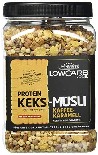 Karamell-protein (Layenberger Protein Keks-Müsli Kaffee-Karamell, 1er Pack (1 x 530 g))