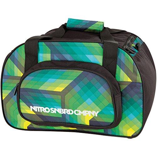 Nitro Snowboards Borse da palestra, Sporttasche Duffle Bag Xs, 40 cm, multicolore  geo green, 1131878019 geo green