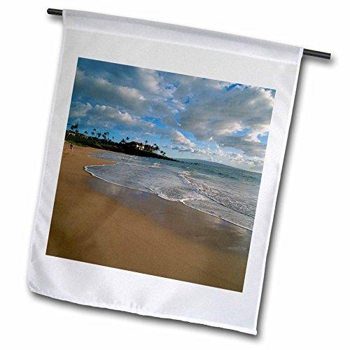 3dRose FL_89666_1 Wailea Maui Hawaii US US12 Dpb0987 Douglas Peebles Gartenflagge, 30,5 x 45,7 cm