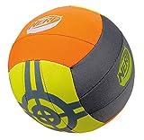 Happy People 16571 - Neopren Volleyball Nerf, Größe 4, gelb