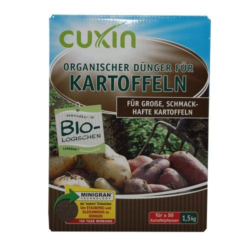 Cuxin organischer Dünger für Kartoffeln, 1,5 kg