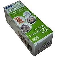 PHARMAQ gotas Ivermectina 1% 5ml–Tratamiento de los ácaros para mascotas peludas pequeñas