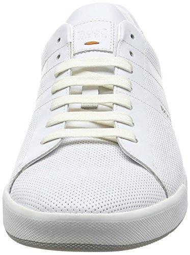 Boss Orange Stillnes_tenn_ltpf 10197234 01, Sneakers Basses Homme Blanc (White 100)