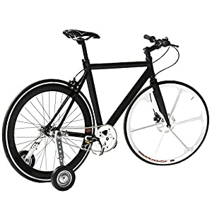 """CyclingDeal Adjustable Adult Bicycle Bike Training Wheels Fits 20"""" To 26"""""""