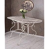 Gartentisch Eisen Eisentisch Shabby Chic Tisch Balkontisch Terrassentisch Antik