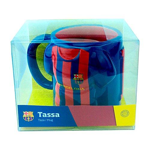Taza Camiseta FC Barcelona ceramica
