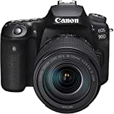 Canon EOS 90D + EF-S 18-135mm f/3.5-5.6 IS USM, Black