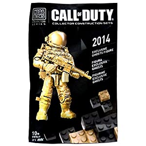Call of Duty – Mega Bloks Exklusive Ghosts Figur