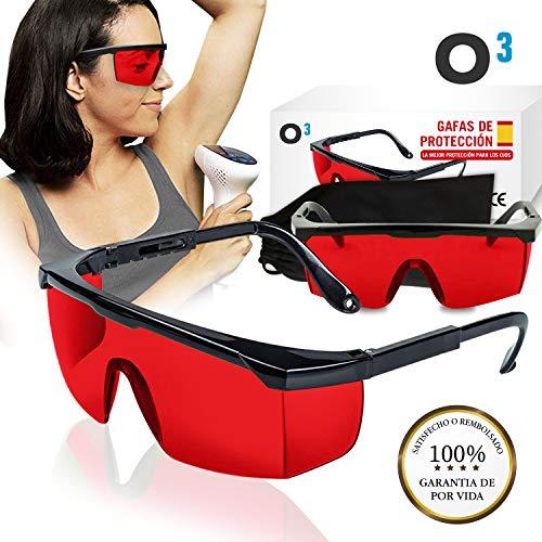O³ Gafas Laser Depilación - Gafas protección