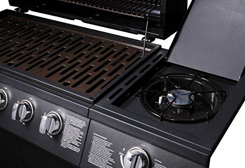 Edelstahl Grillplatte Für Gasgrill : Taino® basic gasgrill grillwagen bbq edelstahl brenner