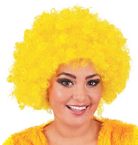 Afro Perücke Jayda - Locken zum Party Kostüm Clown Hippie - ()