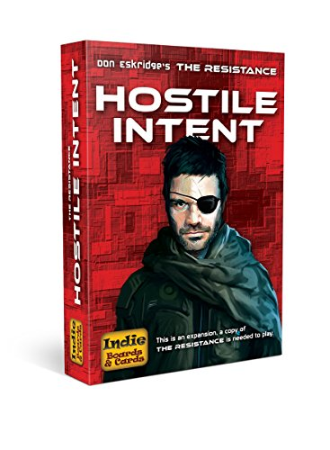 Indie Boards and Cards Resistance Hostile Intent Card Game, Multi Color