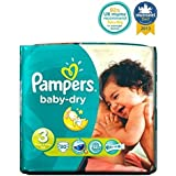 Pampers Taille 3 Packs De Report De Baby-Dry Couches - Couches 30 -