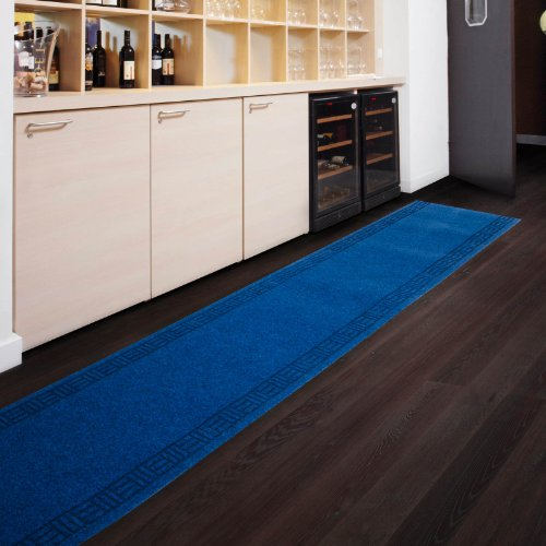 Floori Küchenläufer - 9 Größen wählbar - 66x350cm, blau