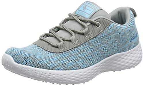 Gola Izzu, Scarpe Sportive Indoor Donna Grigio (Grey/light Blue)