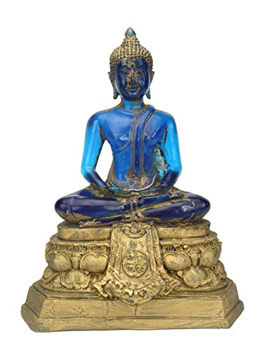 thai-translucide-de-resine-bouddha-assis-225cm-de-haut-bleu-et-or-fin
